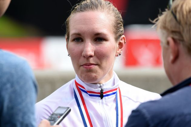 Hayley Simmonds, British time trial national championships 2015