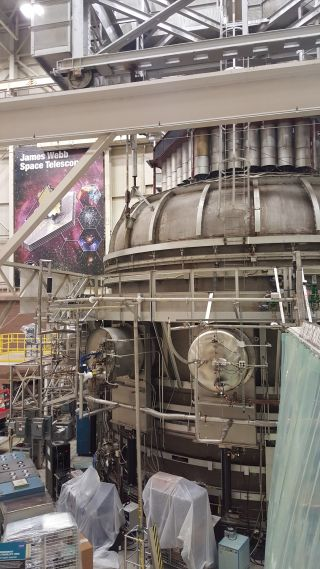 Cryogenic Chamber at NASA's Goddard Space Flight Center