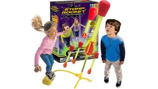 Stomp Rocket's Ultra Rocket LED is now on sale for Prime Day 2021.