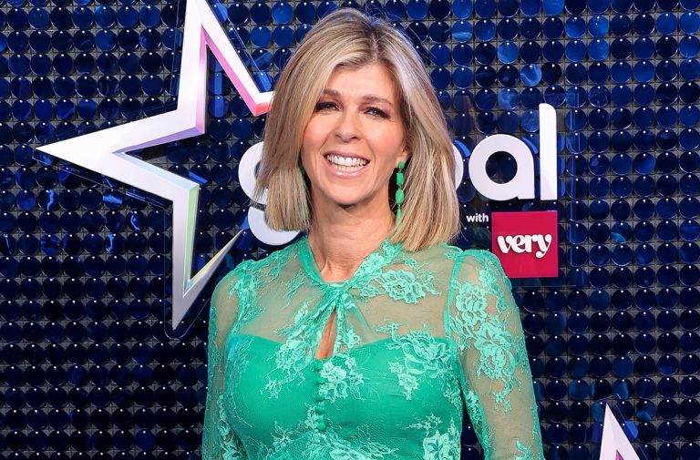 kate garraway positive update husband derek watches good morning britain