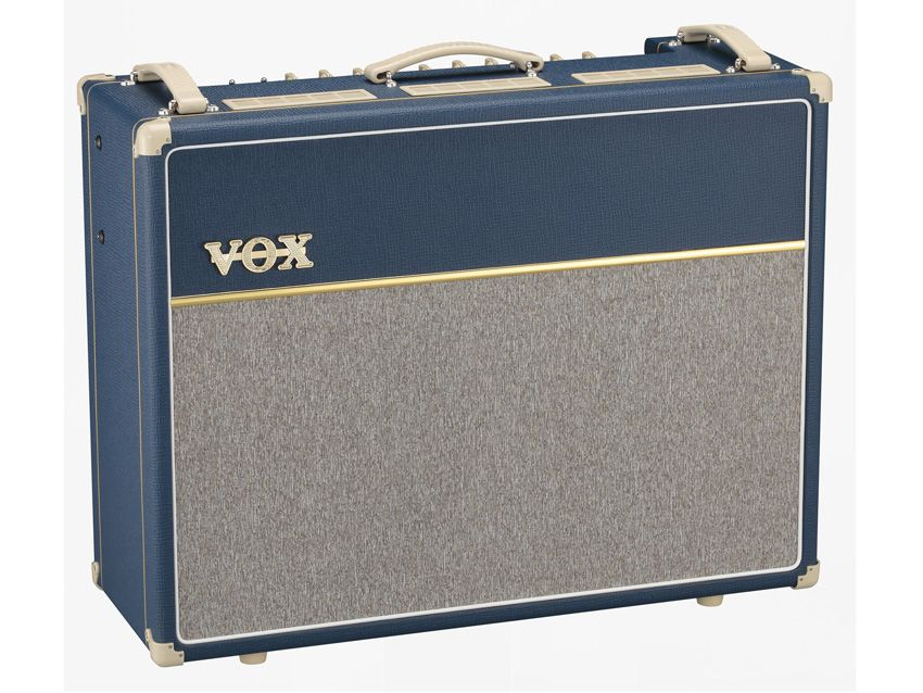 Namm 2012 Vox Releases Limited Edition Ac15c1 Bl And
