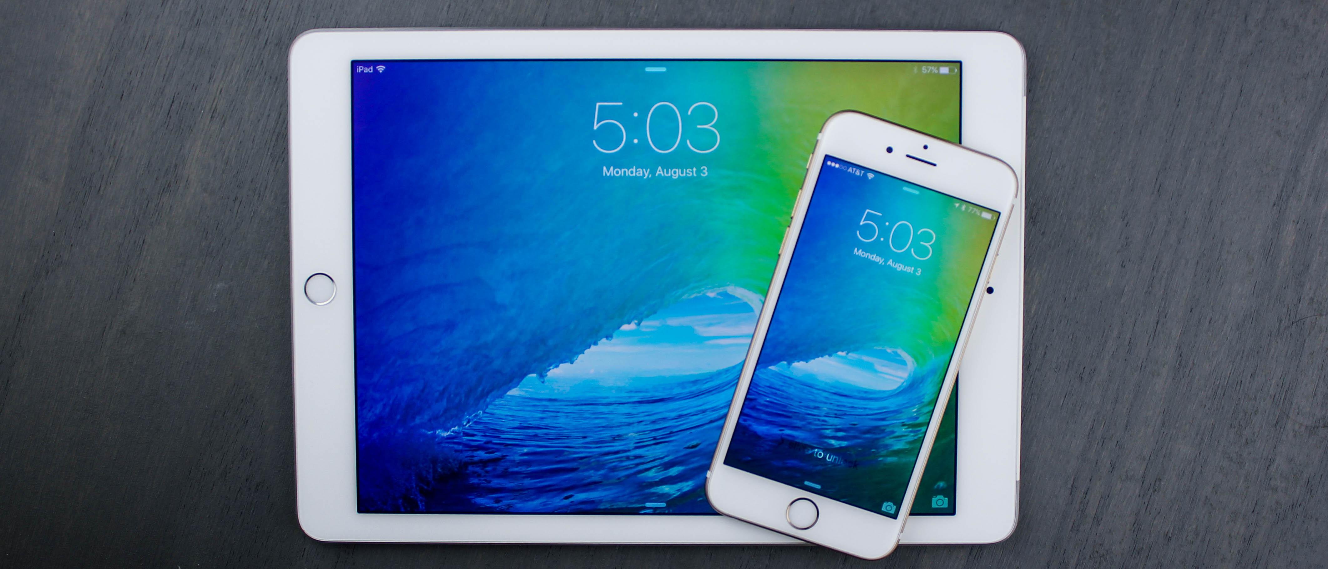 iOS 9 vs iOS 10 comparison: Delete preinstalled apps