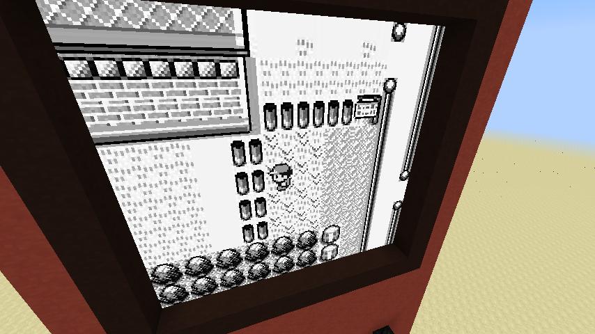 Minecraft genius is building a working Pokemon game | PC Gamer