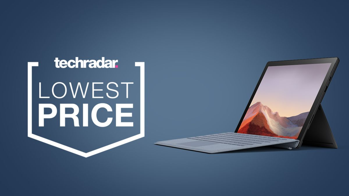 This Surface Pro 7 deal is now available for just $599 – with a keyboard included