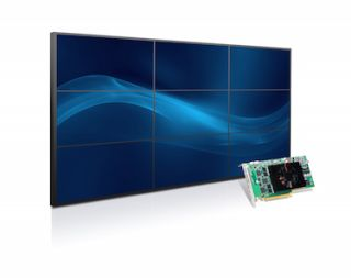 Matrox Unveils Single-Slot Graphics Card to Drive Nine 1920x1080 Displays for 3x3 Video Walls