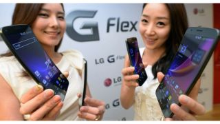LG G Flex officially unveiled in Korea