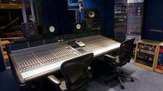 A piece of music history: the SSL 4048 E Series console from Sarm Studio 2