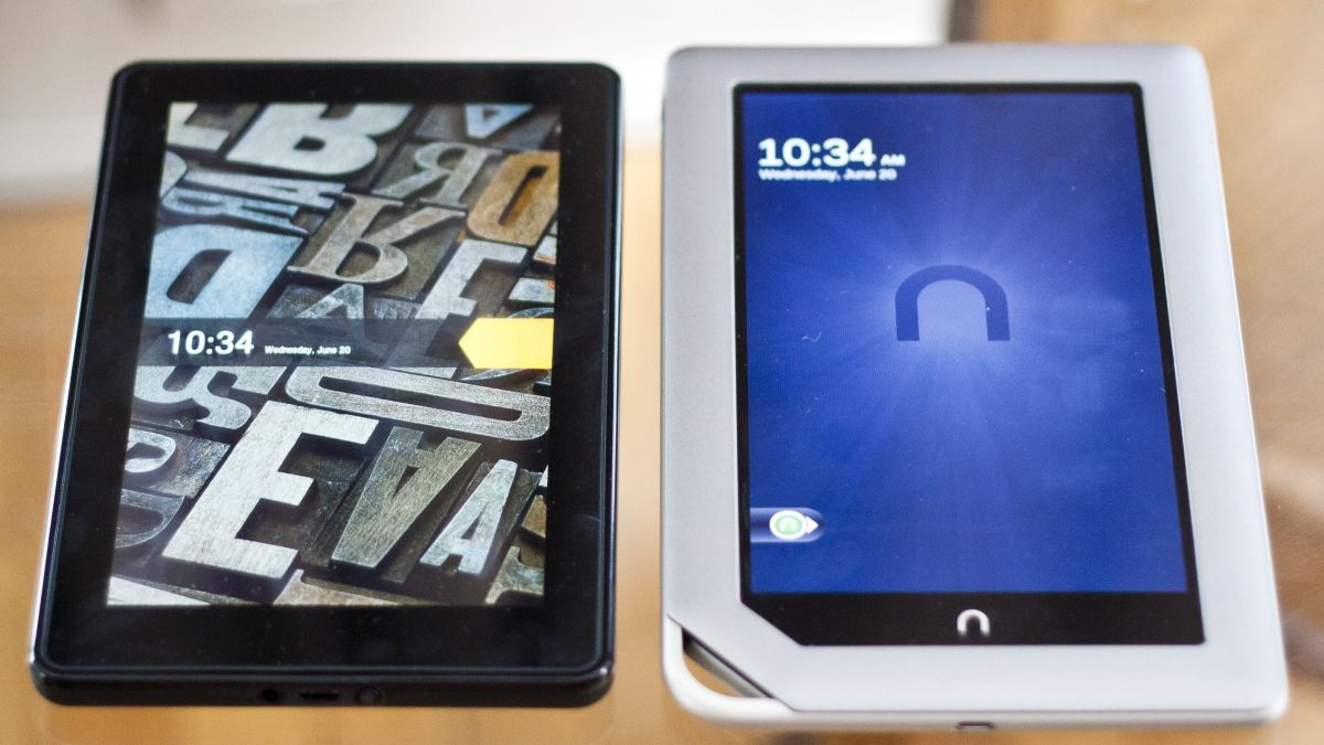 Kindle Fire Vs Nook Tablet Which Should You Buy TechRadar