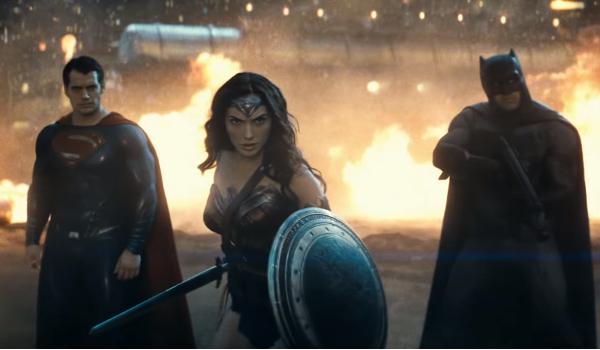 Batman V Superman DC Trinity