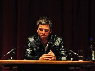Noel Gallagher launching his debut solo material at Notting Hill's Electric Cinema, 6 July 2011