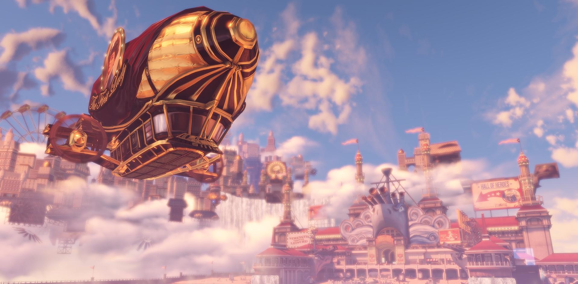 cloud city by bioshock