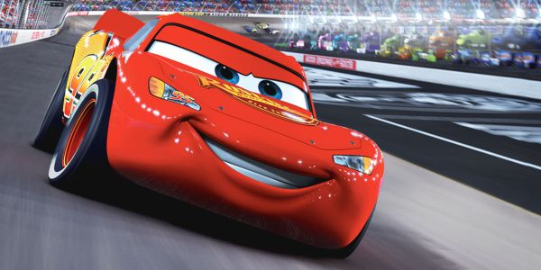 Lightning McQueen in Cars