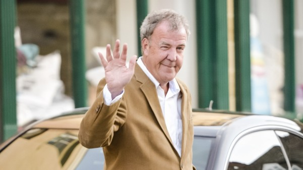 Jeremy Clarkson in Chipping Norton for the charity auction (Ben Birchall/PA)