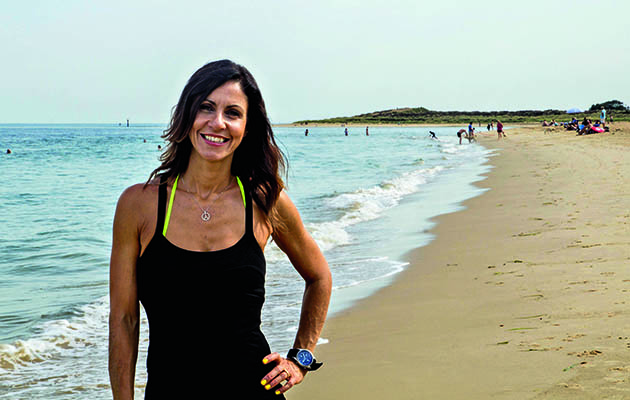 If you're feeling the need to walk off some of the seasonal excess, Julia Bradbury's your woman.