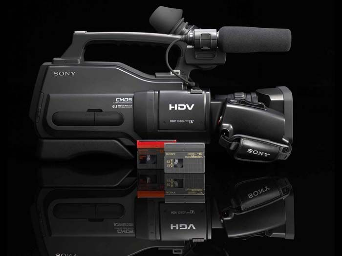 Sony HD TV video camera for serious amateurs | TechRadar