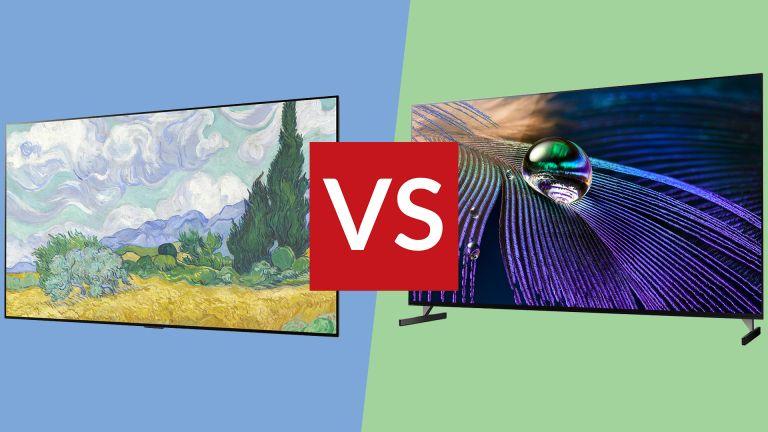 LG G1 vs Sony A90J