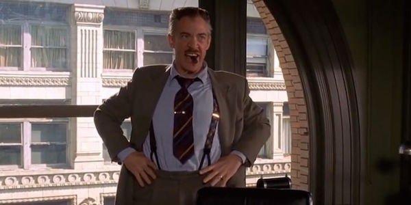 J.K. Simmons as J. Jonah Jameson in Spider-Man