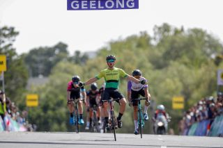 Nick White wins stage 2 of the 2020 Bay Crits