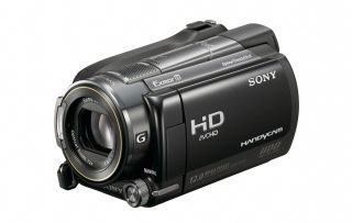 Sony's XR520 camcorder with GPS and backlit CMOS sensor