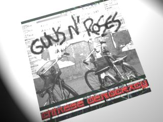 A fan-made mock-up of the Chinese Democracy cover. It won't look like this, but will it sound better than what we've heard?