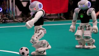 Germany won the Robot World Cup 2016 on penalties