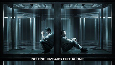 Sly and Arnie star in first poster for Escape Plan