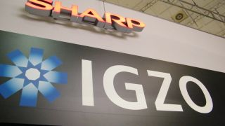 Sharp shows off IGZO the screen tech that could be in the next iPad