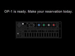 The OP-1 annoucement we've been waiting for.