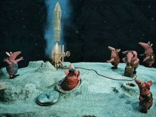 Robot diggers win Moonbase contract after Clangers demand excessive soup