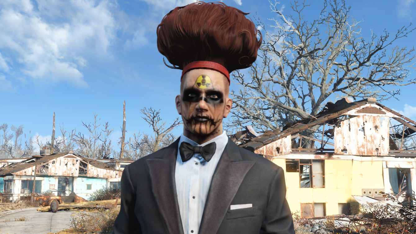 Fallout 4 Hairstyles Tattoos And Face Paint Guide Pc Gamer