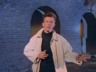Rick Astley: back when his dignity was still intact.