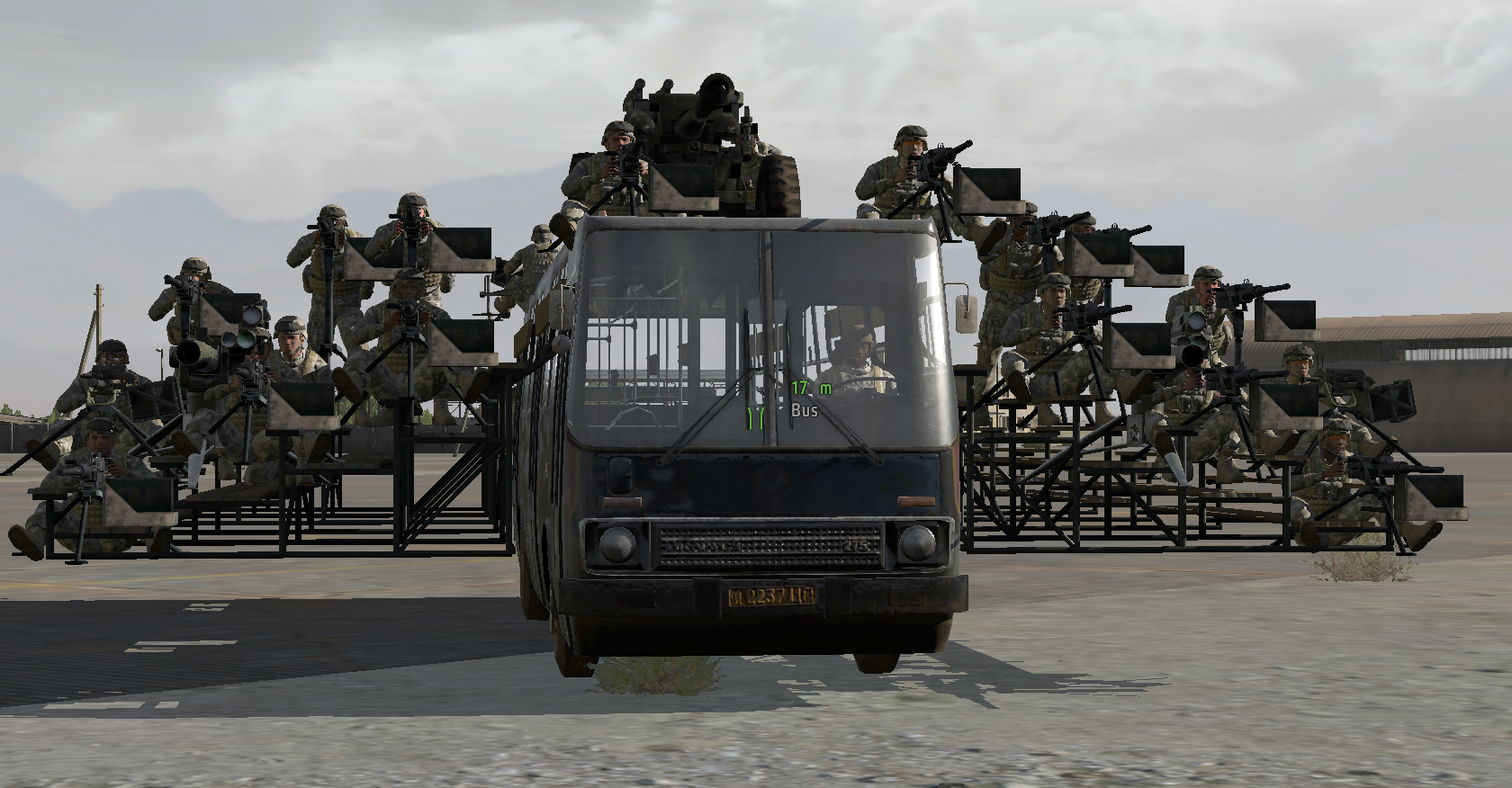 PC Gamer's terrifying Battle Bus is why you should play ArmA 2 | PC