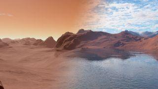 Mars Ancient Modern