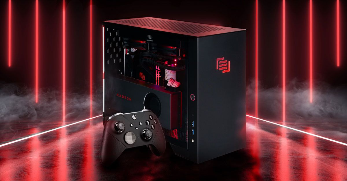 Maingear launches a Ryzen XT gaming PC that is 'no larger than a shoebox'
