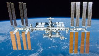 Take a ride to the International Space Station