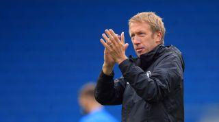 Brighton manager Graham Potter