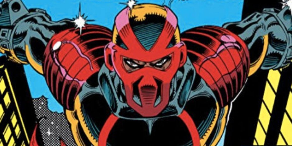 Masked human vigilante Night Thrasher