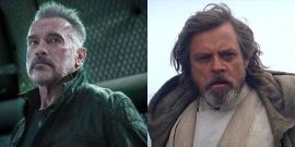 Arnold Schwarzenegger Uses His Huge Biceps And Mark Hamill Uses Star Wars Memes To Explain Why Fans Should Listen To Doctors About Covid