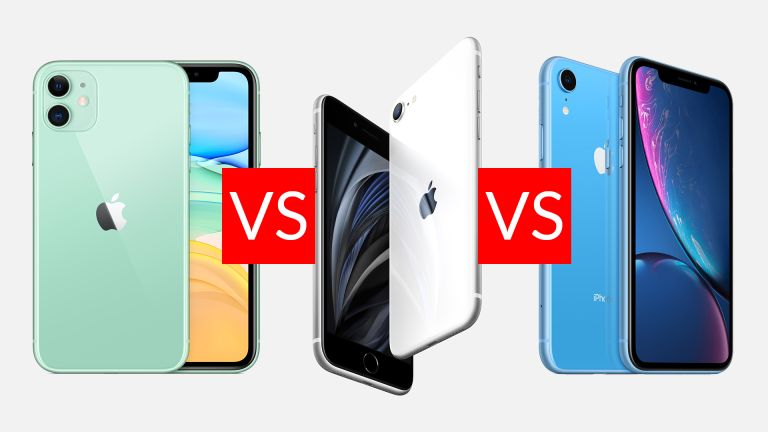 iPhone SE vs iPhone 11 vs iPhone XR