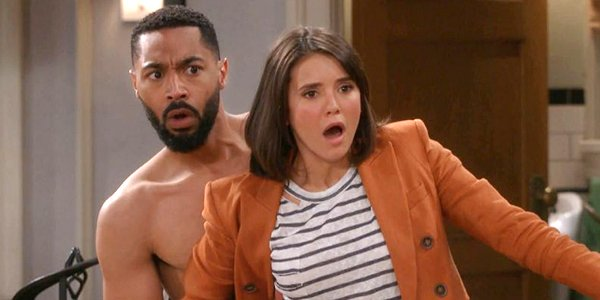 Tone Bell and Nina Dobrev in Fam on CBS