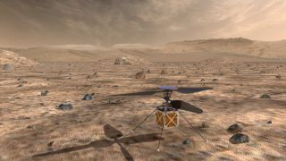 The 4-lb. Mars Helicopter will travel to the Red Planet with NASA's next Mars rover, which is scheduled to launch in mid-2020.