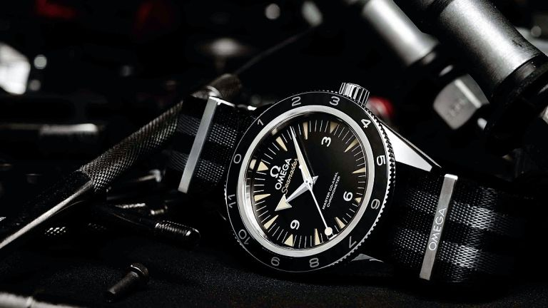 This is James Bond's new Omega Seamaster 300 watch from SPECTRE and you can buy one too
