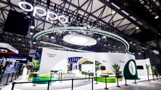 Oppo stall at MWCS