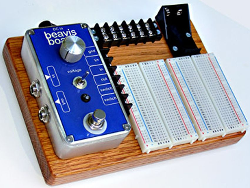 build your own stompbox circuit with beavis board musicradar. Black Bedroom Furniture Sets. Home Design Ideas