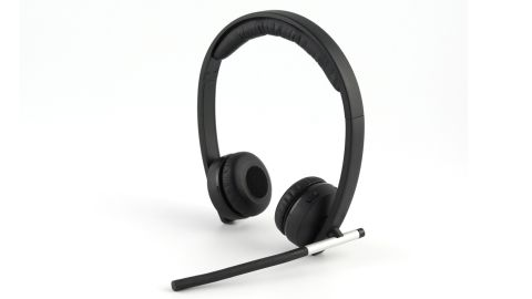 The Logitech Wireless Headset Dual H820e