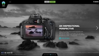 Canon irista website