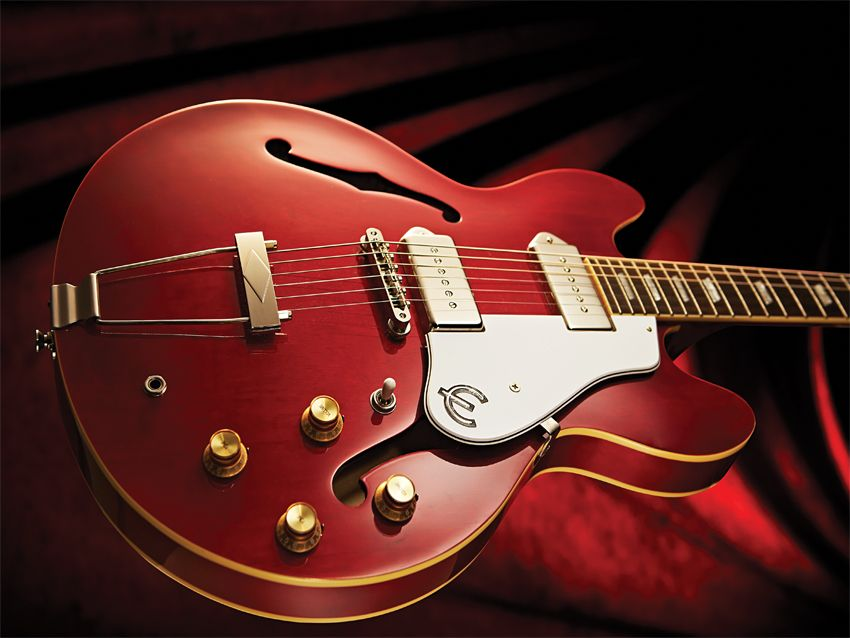 epiphone casino cherry review