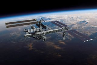 Astronauts to Reel in ISS Solar Array Today