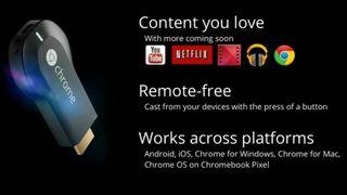 Chromecast apps list grows