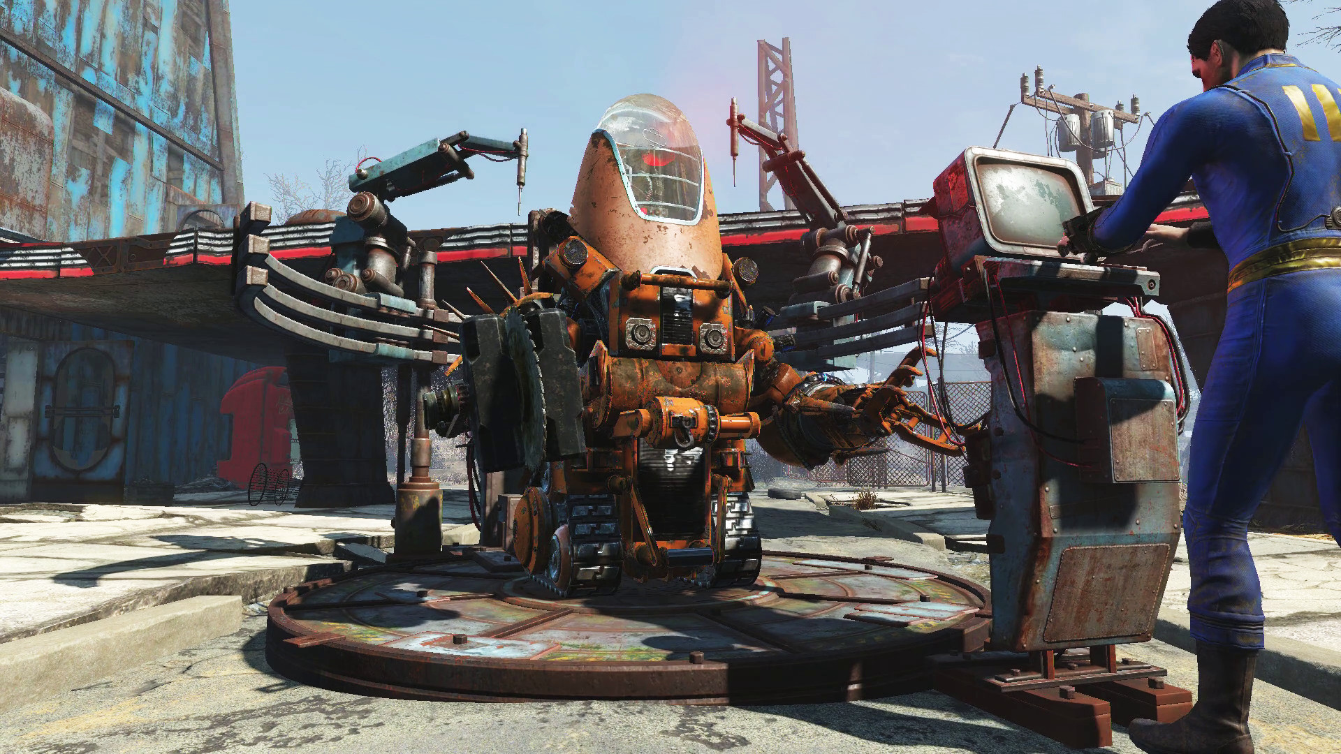 Stupendous Fallout 4 Automatron Review Pc Gamer Caraccident5 Cool Chair Designs And Ideas Caraccident5Info